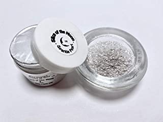 Slice of the Moon: Sparkle Pearl Mica Powder 1oz, Cosmetic Mica, Soap Making, Candle Making,Resin Dye, Lip Balm, Eye Liner...