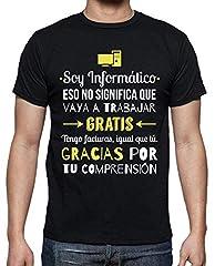 latostadora - Camiseta Soy Informatico para Hombre