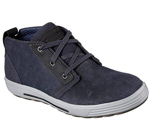 Skechers - Portermalego Navy - 65144NVY - Couleur: Noir - Pointure: 41.0
