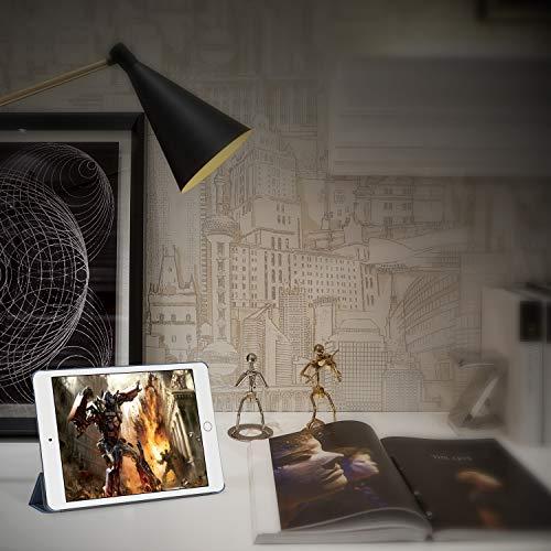 JETech Hülle Kompatibel iPad Air 2, Schutzhülle mit Ständer Funktion und Auto Schlaf/Wachen, Navy Blau