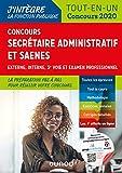Concours Secrétaire administratif et SAENES - Tout-en-un - Concours 2020: Tout-en-un - Concours 2020 (2020)