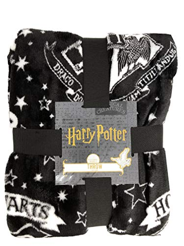 Harry Potter Hogwarts Fleece-Überwurf, Lizenzprodukt