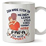 Tazza con scritta 'Papa I Love You and Original for Fathers Day'