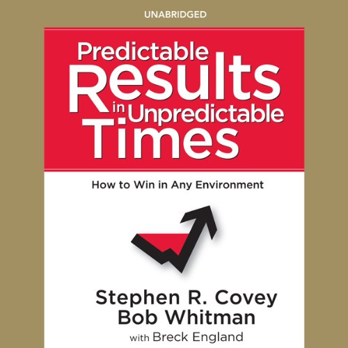 Predictable Results in Unpredictable Times audiobook cover art