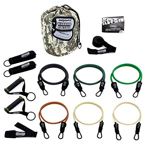 bodylastics Anti-SNAP Warrior Edition Resistance Band Sets Come