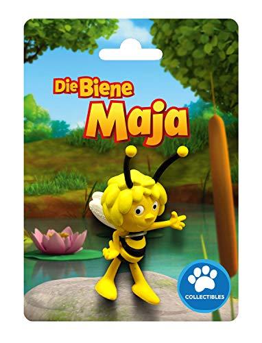 Bullyland 43420 - Spielfigur, Biene Maja, ca. 6 cm, ideal als Torten-Figur, detailgetreu, PVC-frei, tolles Geschenk für Kinder zum fantasievollen Spielen
