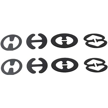 5 Stück Magic Bra BH Clip 2 paar Transparente BH Träger Anti Rutsch Push Up