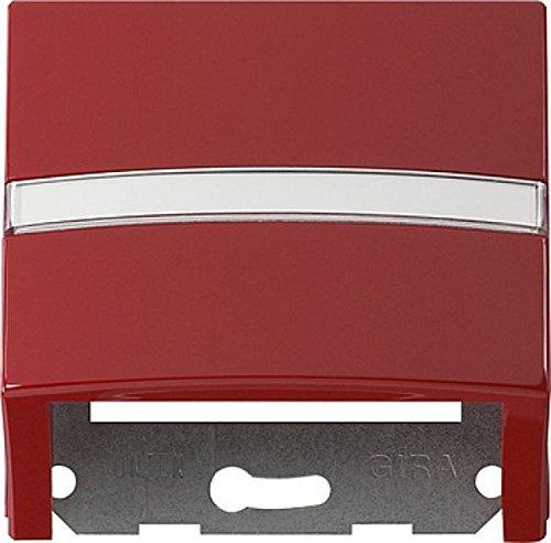 Gira 087043 datakapje tekstveld met draagring S, rood