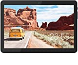 Tablet 10 Inch, 3G Phone Tablets with 32GB Storage, Dual SIM Card Slots, Quad-Core Processor, HD Touchscreen, WiFi, Bluetooth, GPS - Black