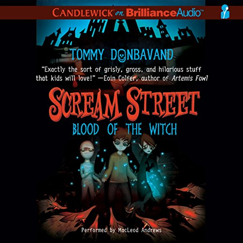 Scream Street: Blood of the Witch, Book 2 audiobook cover art