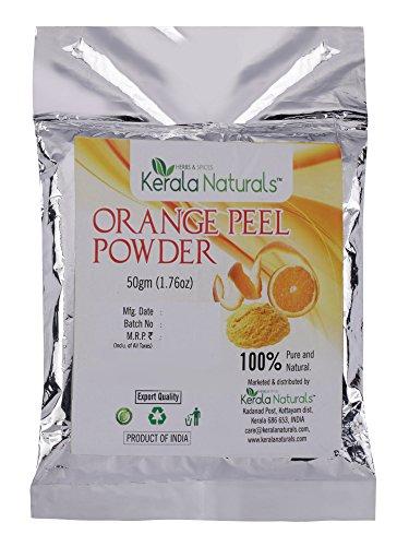 Kerala Naturals - Polvere di buccia d'arancia, 150 g