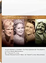 Classic Quad Set 6: (Journey to the Center of the Earth / Little Miss Broadway / My Friend Flicka / Those Magnificent Men in Their Flying Machines)
