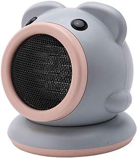 ZISIJI Calefactor pequeño/Calefactor/Calefactor portatil electrico,750W, Adecuado para Sala de Estar, Dormitorio, Oficina, etc,Gris