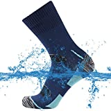SuMade 100% Waterproof Golf Socks, Womens Mens Athletic Breathable Outdoor Winter Snow Sports Dry...
