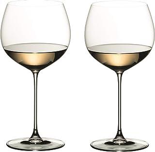 [正規品] RIEDEL リーデル 白ワイン グラス ペアセット リーデル・ヴェリタス オークド・シャルドネ 620ml 6449/97