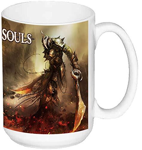 Dark Souls Taza Grande Ceramica 15 oz ≈ 443 ml
