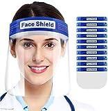Pantalla protectora facial, visera protectora transparente, caretas de seguridad...