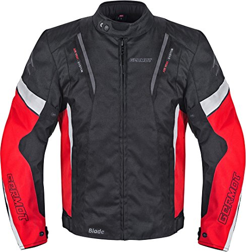 Germot Blade Motorrad Textiljacke Schwarz/Rot XL