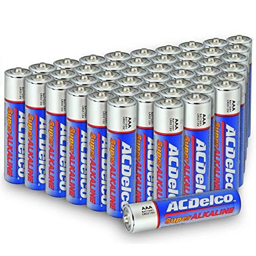 ACDelco AAA Batteries Alkaline Battery 48 Count