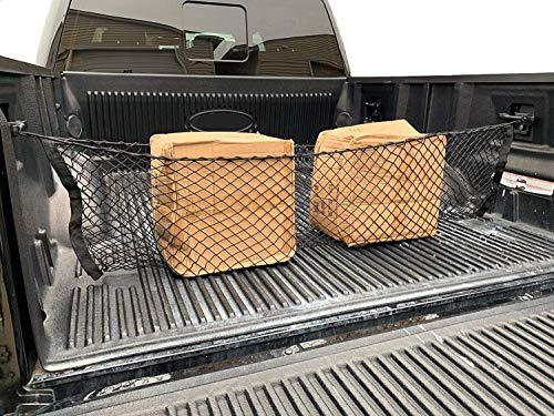 TrunkNets Inc Truck Bed Envelope Style Trunk Mesh Cargo Net for Ford F-150 F150 F 150 2015-2020...