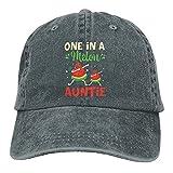 One in A Melon Auntie - Gorra de béisbol unisex con diseño de sandía