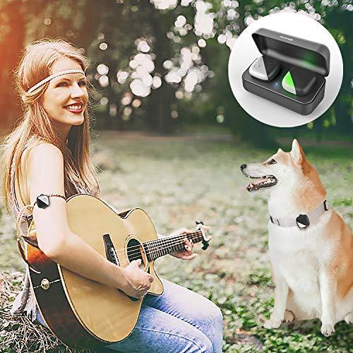 PETFON Perros Mascotas GPS Tracker Sin cuota mensual dispositivo de seguimiento en tiempo real Anti-perdida Monitor Smart Finder(Only for Dog)