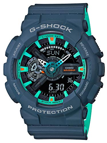 [カシオ] 腕時計 ジーショック G-SHOCK GA-110CC-2AJF メンズ ブルー