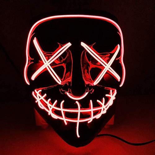 Foneso Máscaras LED de Halloween,...