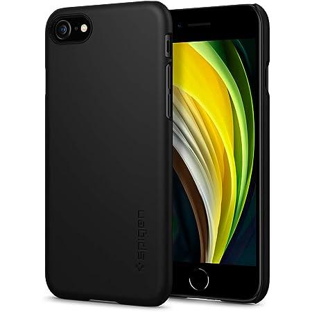 Spigen Thin Fit Designed for iPhone SE 2020 Case/Designed for iPhone 8 Case (2017) / Designed for iPhone 7 Case (2016) - Black