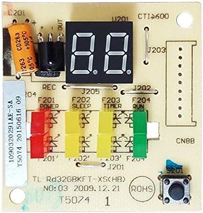 Placa Display/Receptora para Ar Condicionado Philco PH12000FM5, PH12000M, PH12000QFM5