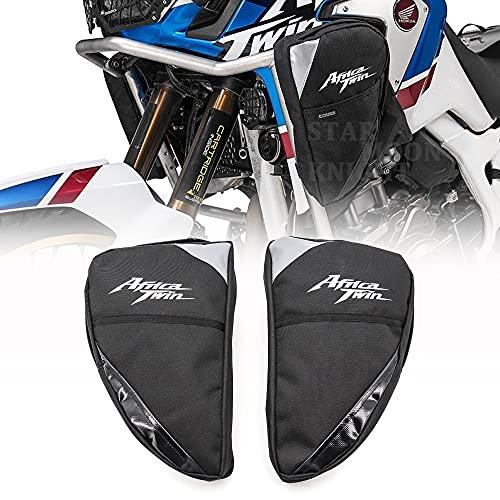 HWH Para ho.n.da crf1000l af.ri.ca Twin CRF1000L Aventura Deportes Motocicleta Marco de Motocicleta Barras de Crash Bolsa Impermeable Herramienta Colocación Bolsa de viaje Durable