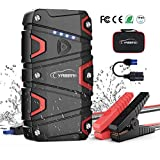 Jump Starter - YABER 1200A Peak 15000mAh Car Battery Jump Starter (up to 7.5L Gas/6.0L Diesel) Portable Jumper Starter 12V Waterproof with QC3.0 Outputs,Type-C Port,LED Flashlight Car Booster Charger