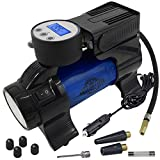 Best Totes Tire Pressure Gauges - Motor Luxe Portable Air Compressor Pump 12V DC Review