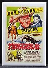 Trigger Jr. Refrigerator Magnet. Roy Rogers