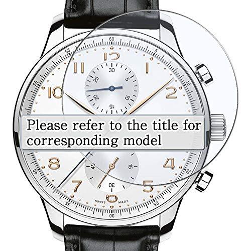 Vaxson 3 Stück Schutzfolie, kompatibel mit Alpina AL-750B4E6, Displayschutzfolie TPU Folie Smartwatch Armbanduhr [nicht Panzerglas]