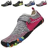 Aqua Shoes Escarpines Hombres Mujer Zapatos de Agua Zapatillas Ligeros de Secado Rápido para Swim Beach Surf Yoga