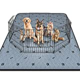 Gimars Heavy Absorbency Non-Slip Washable Waterproof Dog Mat, Reusable 72'x72' Anti-Tear Dog Training Pads, Quick Dry Whelping Pads for Dogs, Pee Pads for Incontinence, Crate, Playpen, Kennel Sleeping