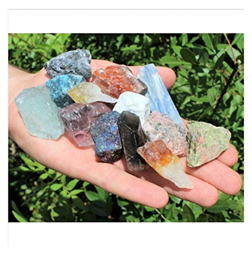 LULIJP 1000 Carat Lot MULK Mixed CRASTERS Edelsteine Kristall Natürliche raue Rohe Mineralfelsen