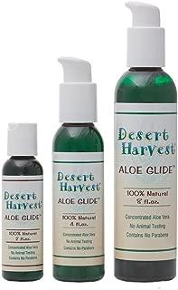 Desert Harvest Aloe Glide® Personal Moisturizer (2 oz) Contains 100% Organic Aloe Vera, no parabens, 100% Vegan, pH Balanced, Soothing for vulvodynia, Vaginismus, Menopause, Dryness, Lichen Sclerosus