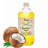 Verana Aceite de masaje corporal Coco, cosmética natural para todos los tipos de piel, efecto revitalizante e hidratante, da alegría y emociones positivas, aromaterapia (1 litro)