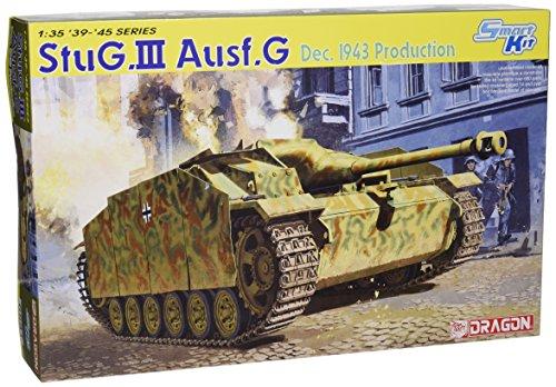 Dragon - D6581 - Maquette - Stug III AUSFG Production Décembre 1943 - Echelle 1:35