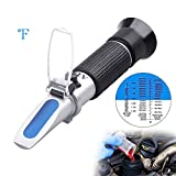 Antifreeze Refractometer - 3-in-1 coolant Tester for Checking Freezing Point, Concentratio...