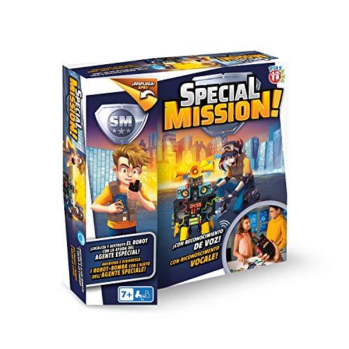 PLAY FUN BY IMC TOYS Special Mission - Convierte en un Súper Agente y destruye el robot; Juego para niños mayores de 7 años