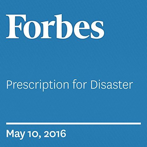 Prescription for Disaster audiobook cover art