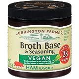 "Vegan / Vegetarian No Animal Products ""Ham"" Flavored Granular Broth Base & Seasoning"