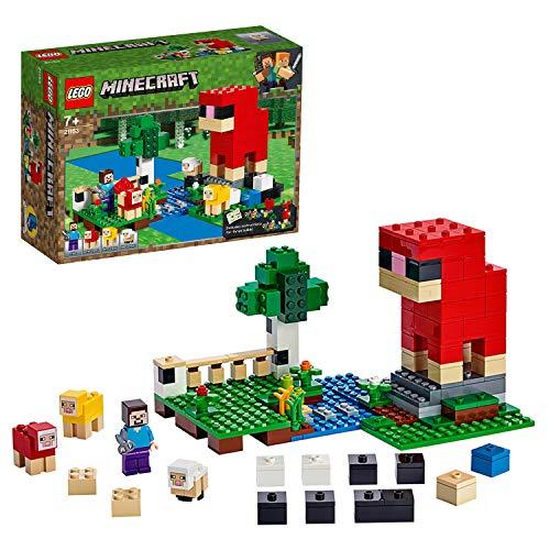 LEGOMinecraft21153 - Die Schaffarm, Bauset