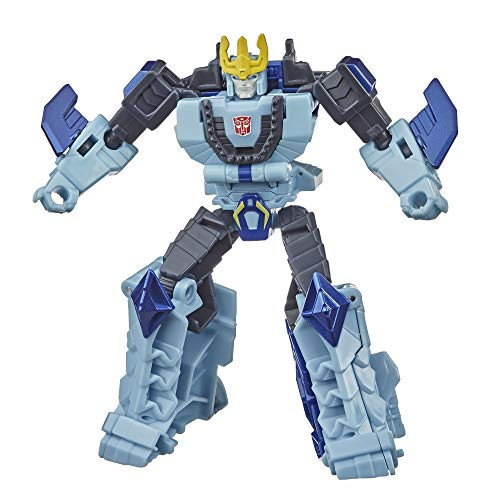 Transformers Bumblebee Cyberverse Adventures Action Attackers Warrior Class Hammerbyte Action Figure, Rip Thrash Move, 5.4-inch