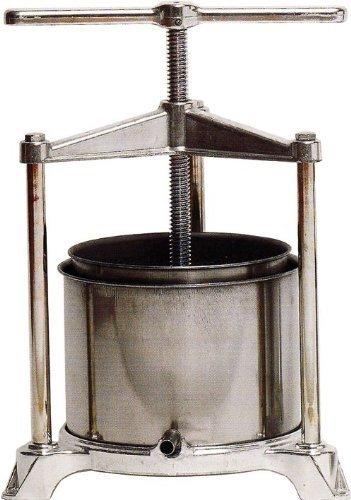 Torchietto Torchio Premitutto Grande AL 32x34x47 cm Acciaio/Alluminio x Alimenti