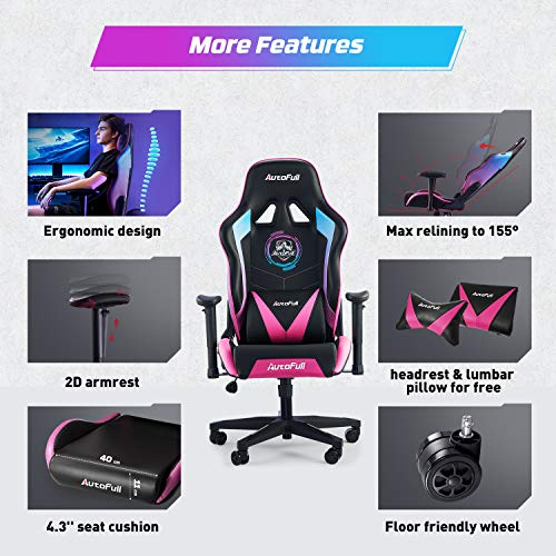 AutoFull Gaming Stuhl Schreibtischstuhl Bild 2*
