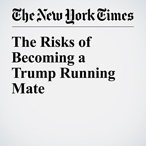 The Risks of Becoming a Trump Running Mate audiobook cover art